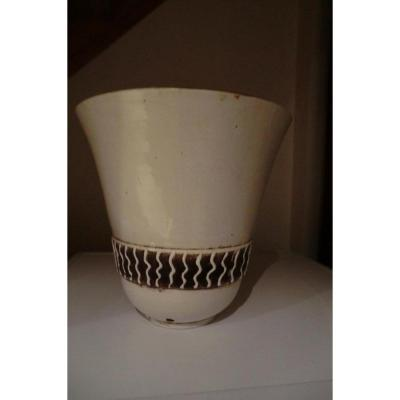 Grand Vase Dlg Jean Besnard Ou Attribué