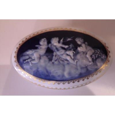 Boite En Porcelaine De Limoges Camille Tharaud