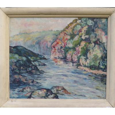 Valley Of The Creuse F Gombert Crozant Detroy Guillaumin
