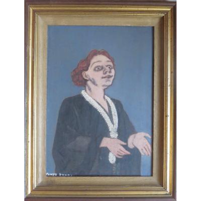 Evans powys british (1899/1981) Yvette Guilbert