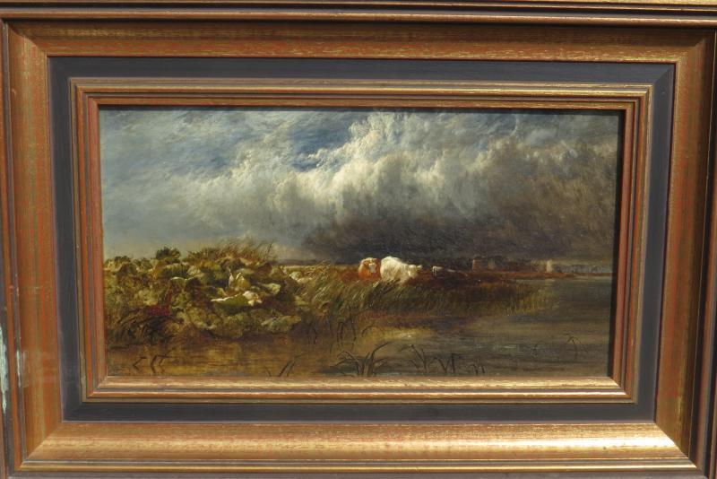 Arthur Gilbert (119/1895) The Thames Near De Chiswick 1852-photo-2