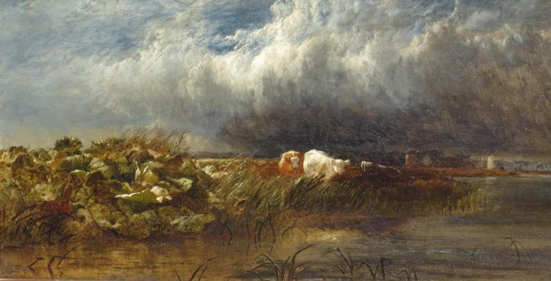 Arthur Gilbert (119/1895) The Thames Near De Chiswick 1852-photo-3