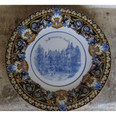 Gien Faience Dish