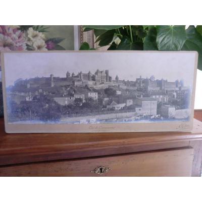 Panorama Vue De Carcassonne