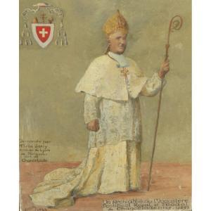 Un Archiabbé De L'abbaye de chancelade jeanne cosson