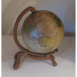 Globe Terrestre Vintage Audoux Minet