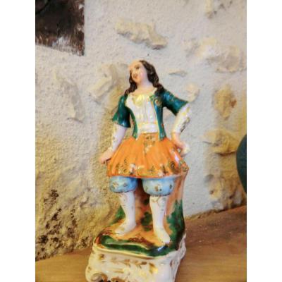 plumier en Porcelaine De Paris