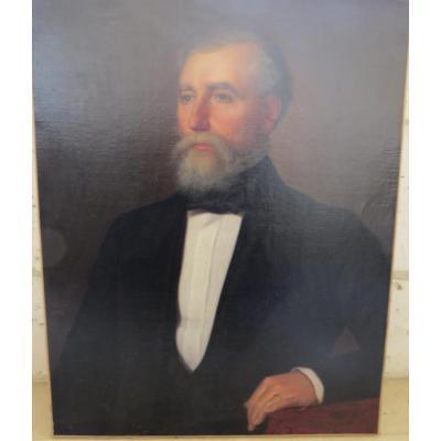 Tableau Aristocrate Signé Schmid 1853