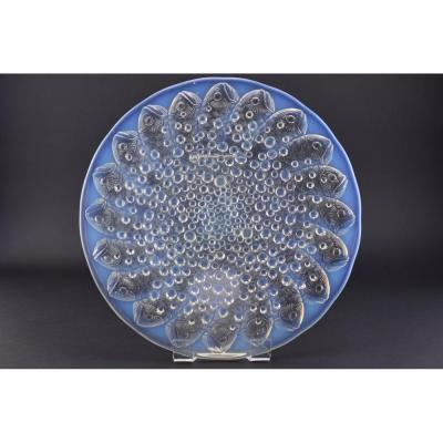 René Lalique Opalescent Roscoff Coupe Ouverte