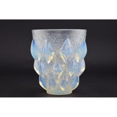Vase Rampillon Opalescent René Lalique
