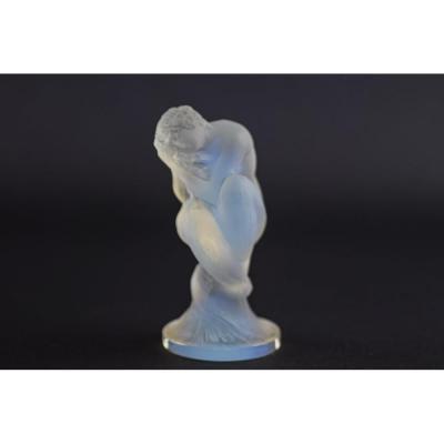 Mascotte De Voiture Sirene Opalescent René Lalique