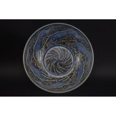 Bol Chiens No1 Opalescent René Lalique