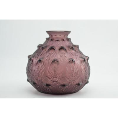 René Lalique Fougères Couleur Prune