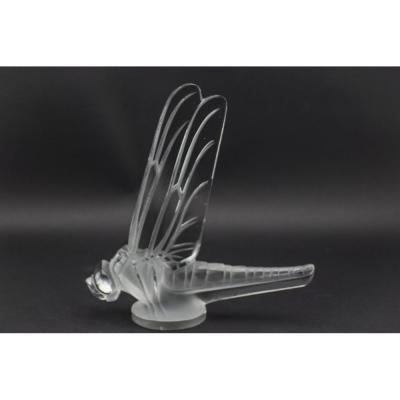 Rene Lalique Large Dragonfly Car Mascot