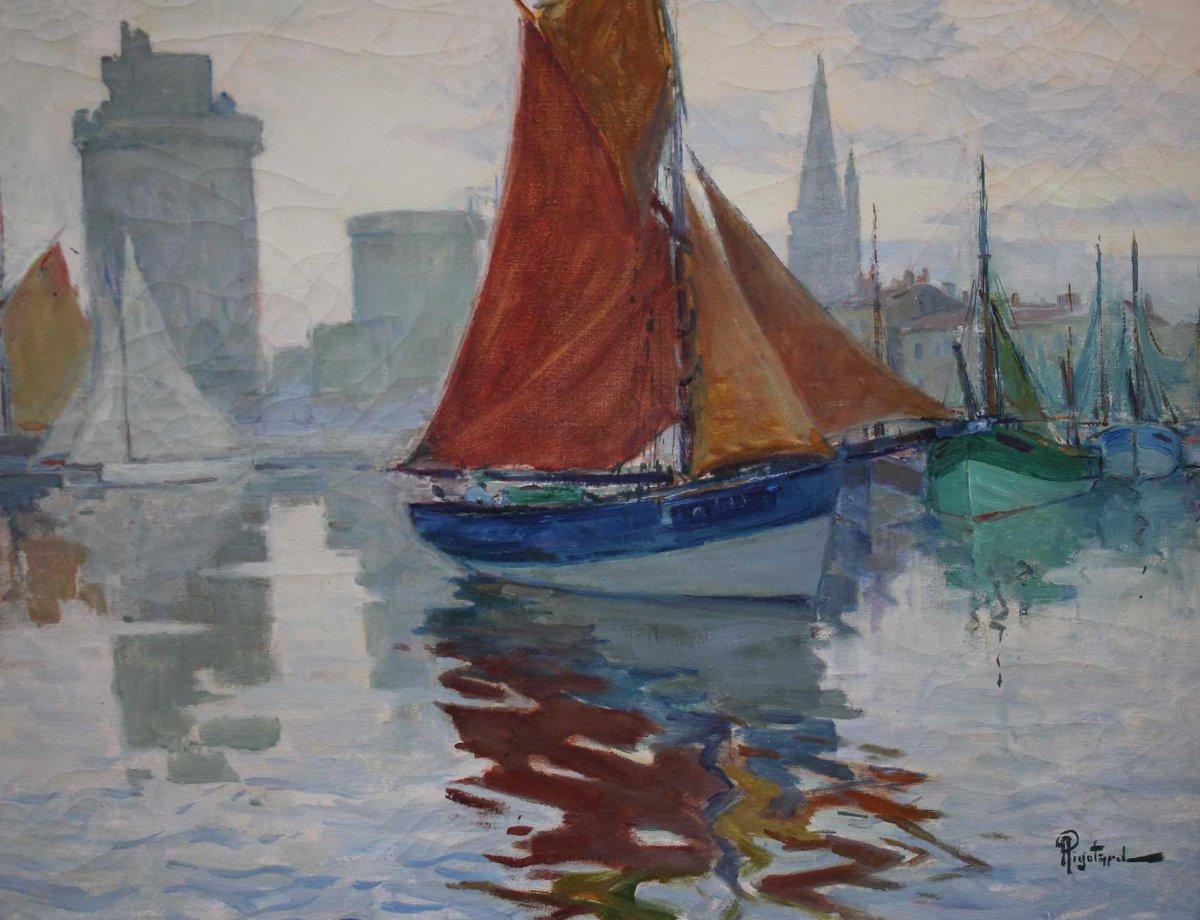 Alexandre Rigotard, Entrée du port de La Rochelle