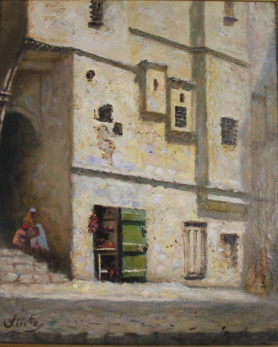 Joseph Sintès, Rue de la casbah d'Alger