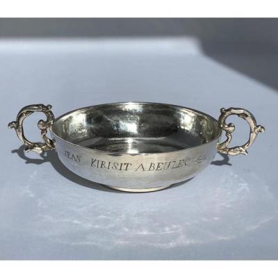 Coupe De Mariage En Argent De Beuzec (finistère) - Bretagne