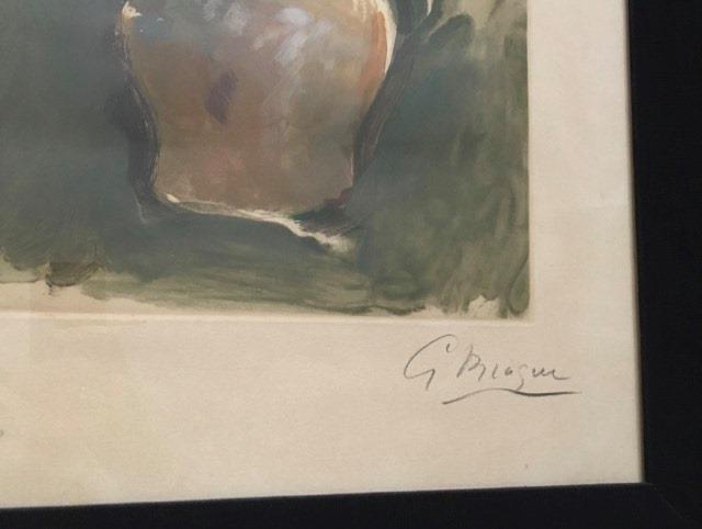 Georges Braque (1882-1963), Le Bouquet Rose-photo-3