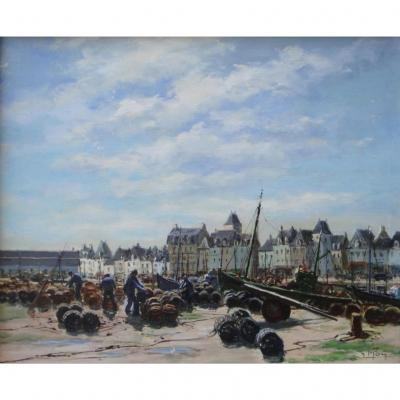 Le Port Du Croisic Par Maurice Moy