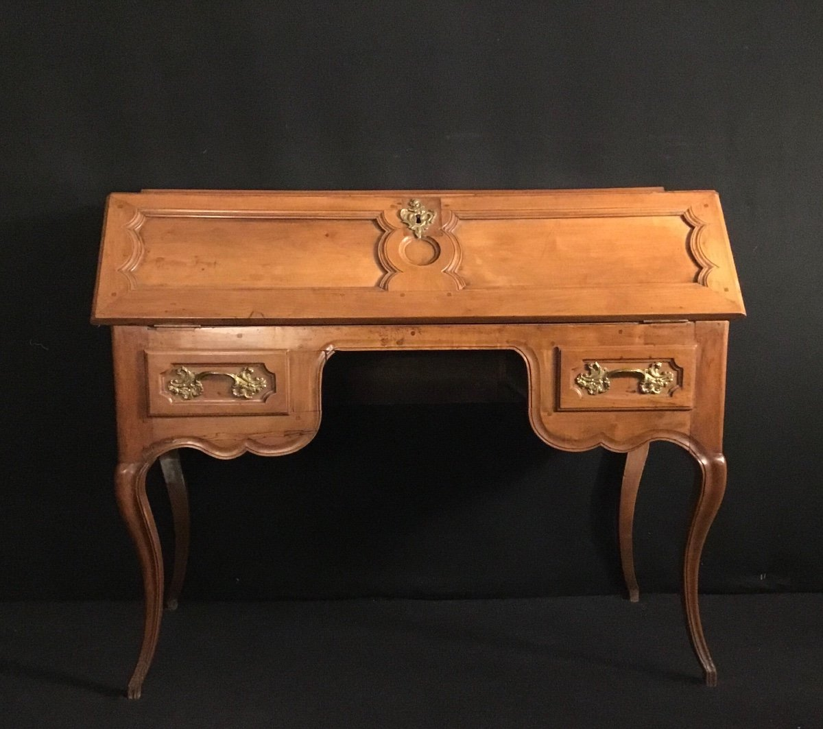 Louis XV Sloping Desk In Cherry