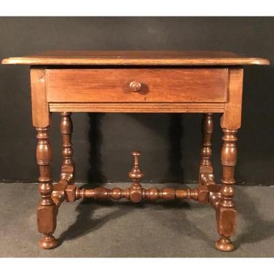 Small Table In Oak XVIIIth Century