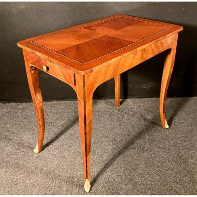 Table Louis XV En Amarante