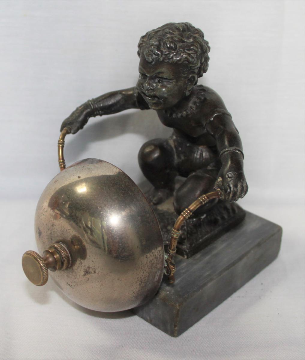Sonnette De Table Bronze Napoléon III