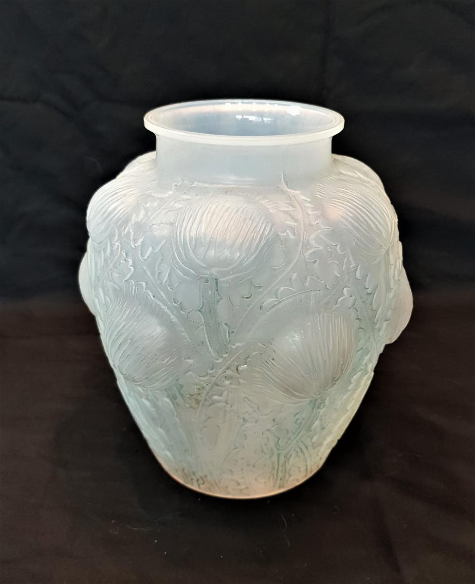 R.lalique Art Deco Vase Domremy 1926
