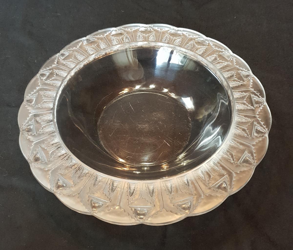 Lalique : Coupe Cristal Chevreuse 1941