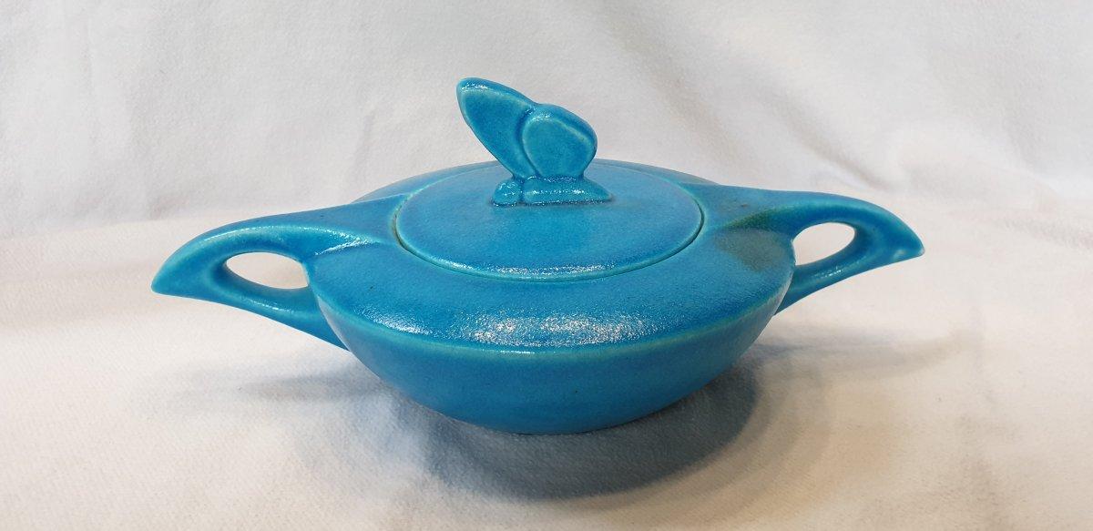 Edmond Lachenal :   Service à thé Papillon -photo-3