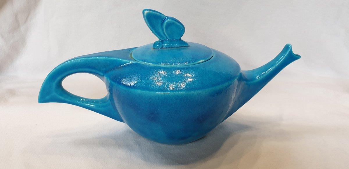 Edmond Lachenal :   Service à thé Papillon -photo-4