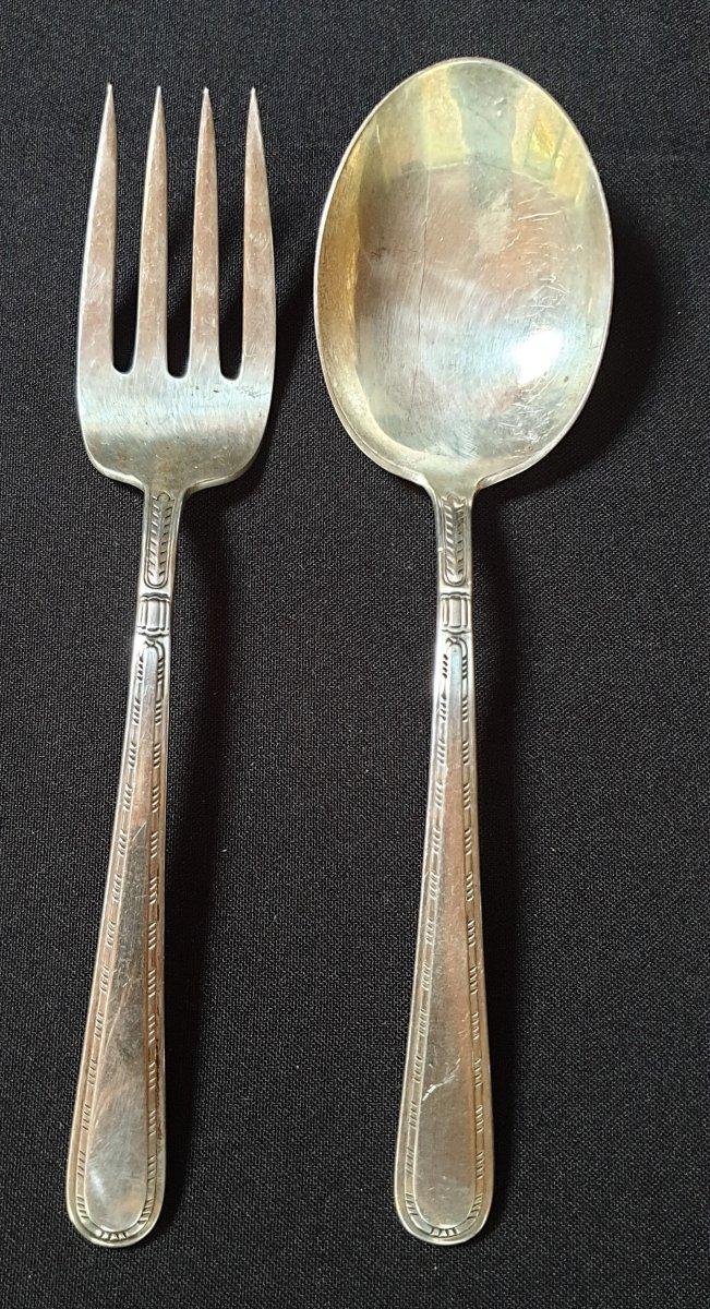 Silver Service Cutlery, England 1931