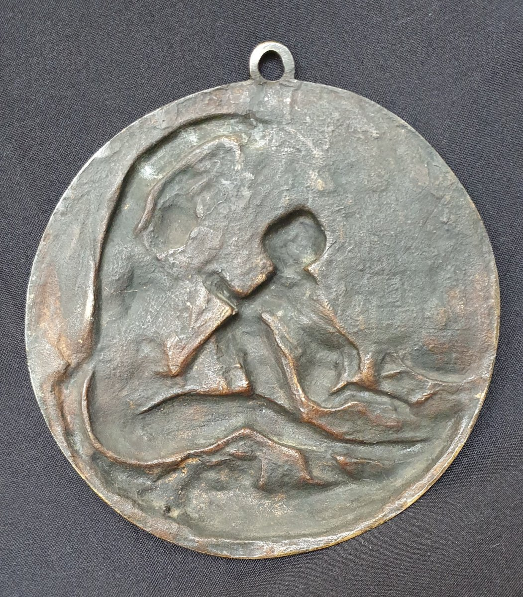 Love And Young Fauna, Bronze After Clodion-photo-4