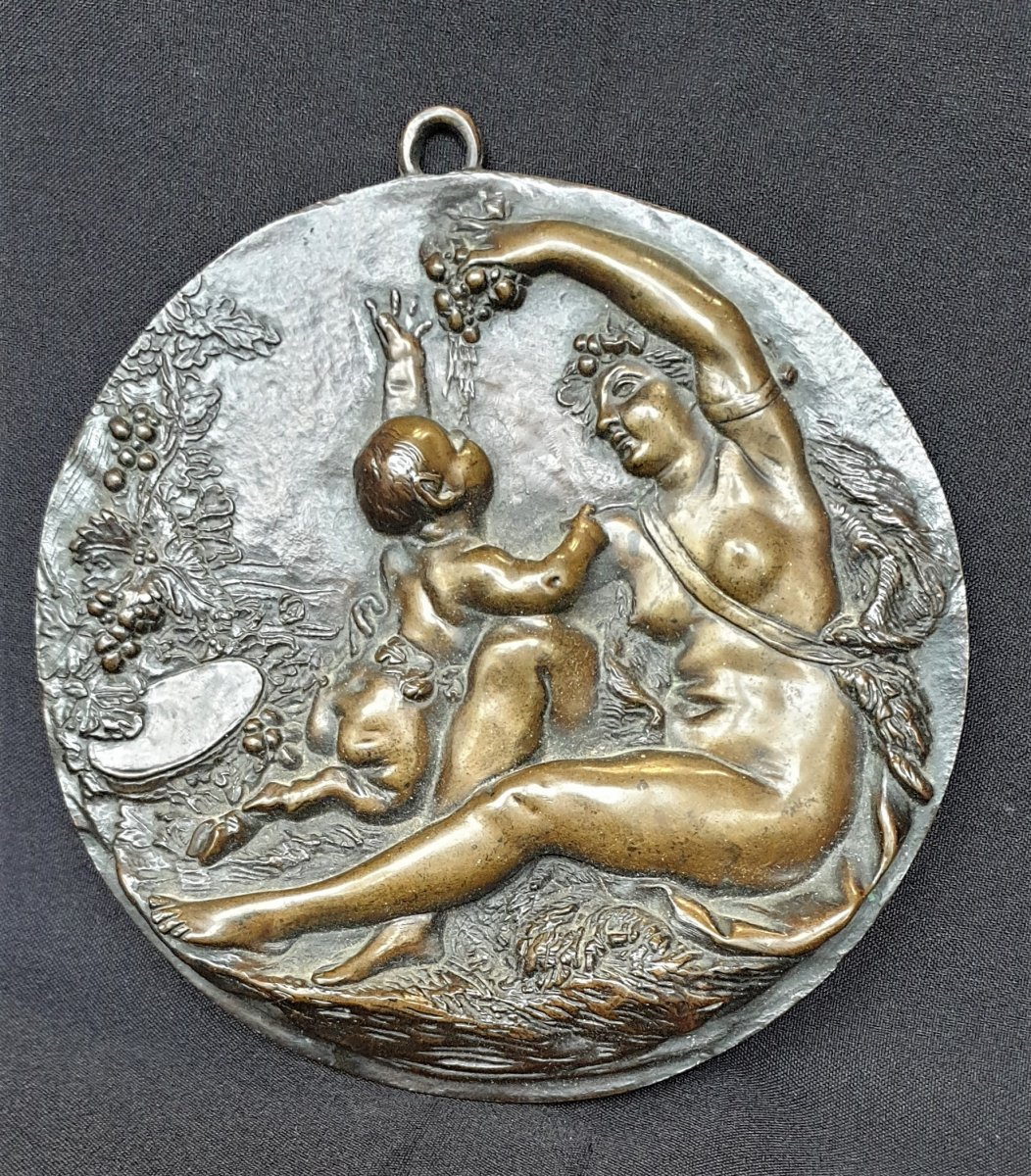 Love And Young Fauna, Bronze After Clodion