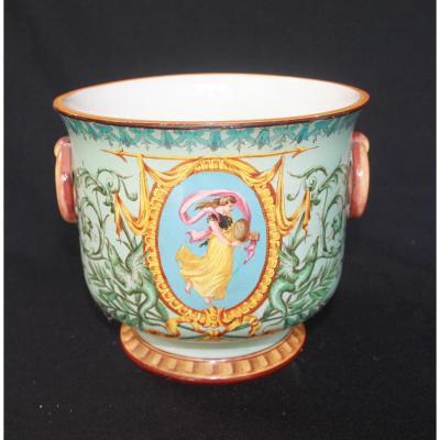 Cache Pot Jules Vieillard Bordeaux 1860