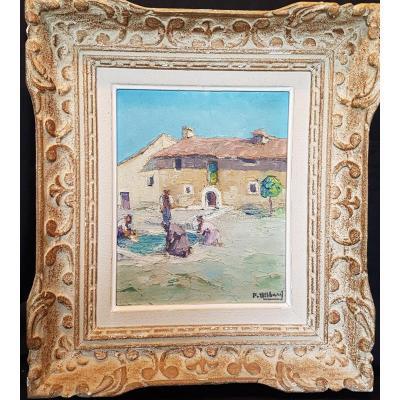 Pierre Billard : Les Lavandières , Guadalajara 1934