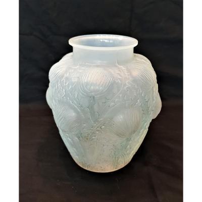 R.lalique Vase Art Déco Domremy 1926