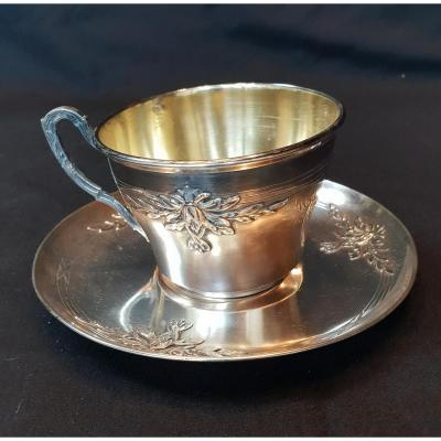 Minerva Sterling Silver Tea Cup