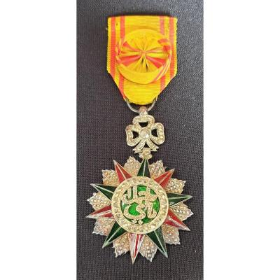 Medal Of The Order Of Nichan Iftikhar, Ahmed Pasha Bey 1930