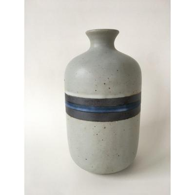 Rare And Superb Authentic Jean Besnard Vase