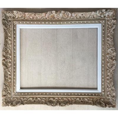 Cadre Montparnasse Pour Tableau Peinture  Aquarelle 50x40cm
