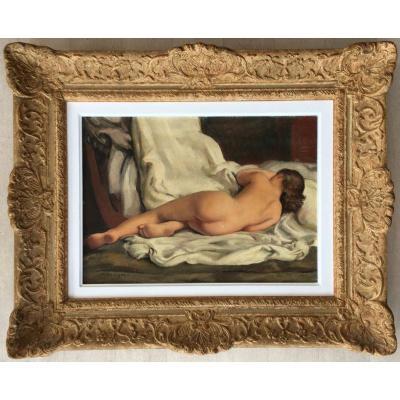 Tableau Peinture Nu Par Maurice Ehlinger