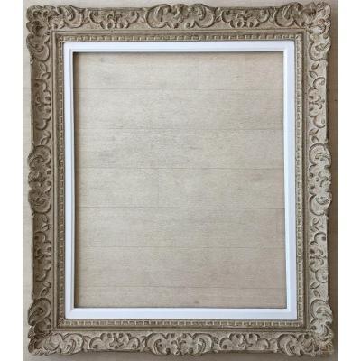 Superbe Cadre Montparnasse Format 15f Pour Tableau Peinture 65x54cm