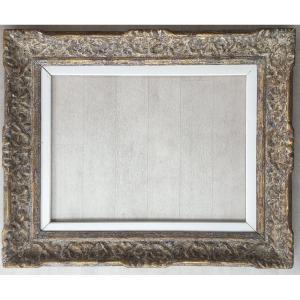 Magnifique Cadre Montparnasse Format 12p Pour Tableau Peinture 61x46cm