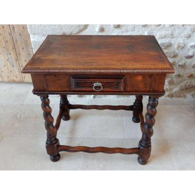 Small Louis XIII Style Side Table