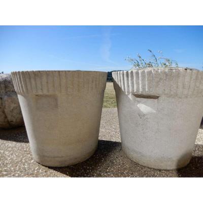 Pair Of Pots Willy Guhl