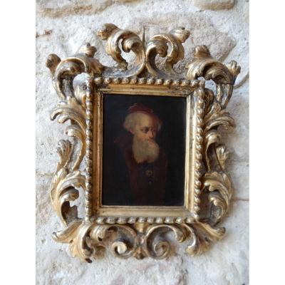 Portrait d'Homme Du Début XVIII Eme