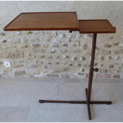Table De Lit Ajustable Des Années 1960