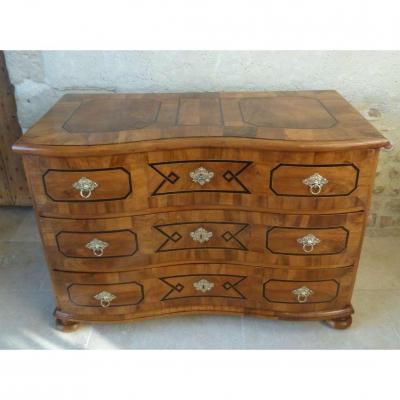 Louis XIV Style Curved Commode XVIII Eme
