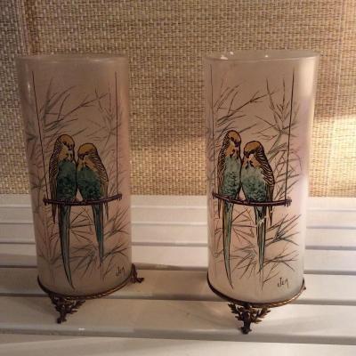 Paire Vase Jem Perruche